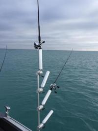 3 Rod Holders Tree Mast   Trolling Equipment   Cisco Fishing
