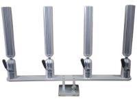 Quad Rod Holder | Cisco Aluminum Adjustable Rod Holder