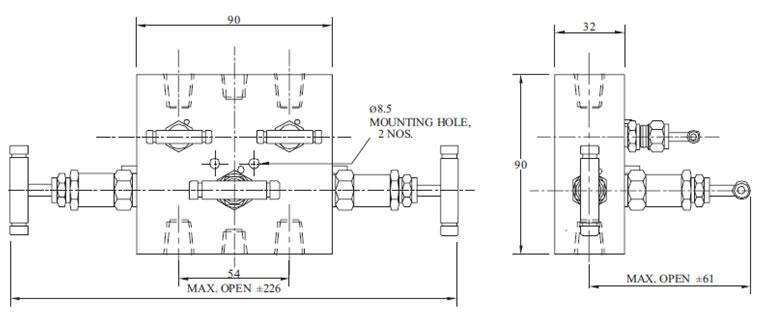 pressure transmitter manifold diagram
