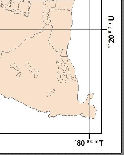 Membuat mT mU di ArcGIS, tutorial arcgis, meter timur meter utara, koordinat arcgis