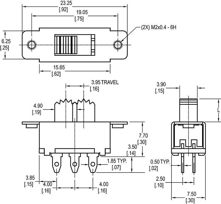 circuit board mount relay