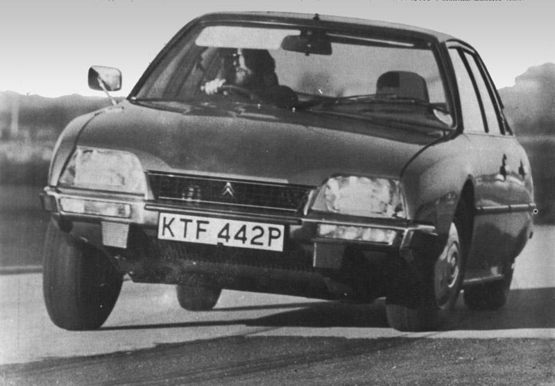 Citroën CX 2200 Pallas 1976 Autocar Auto Test