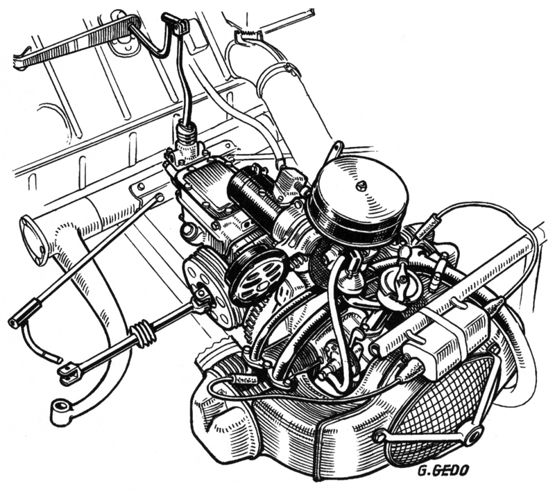 citroen 2cv engine
