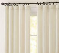 What window treatment for patio sliding door? (drape ...