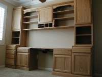 Home Library/Office (Valspar, paint, kitchen cabinets ...