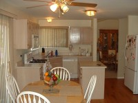 White Kitchen Color Walls - Home Interior Design