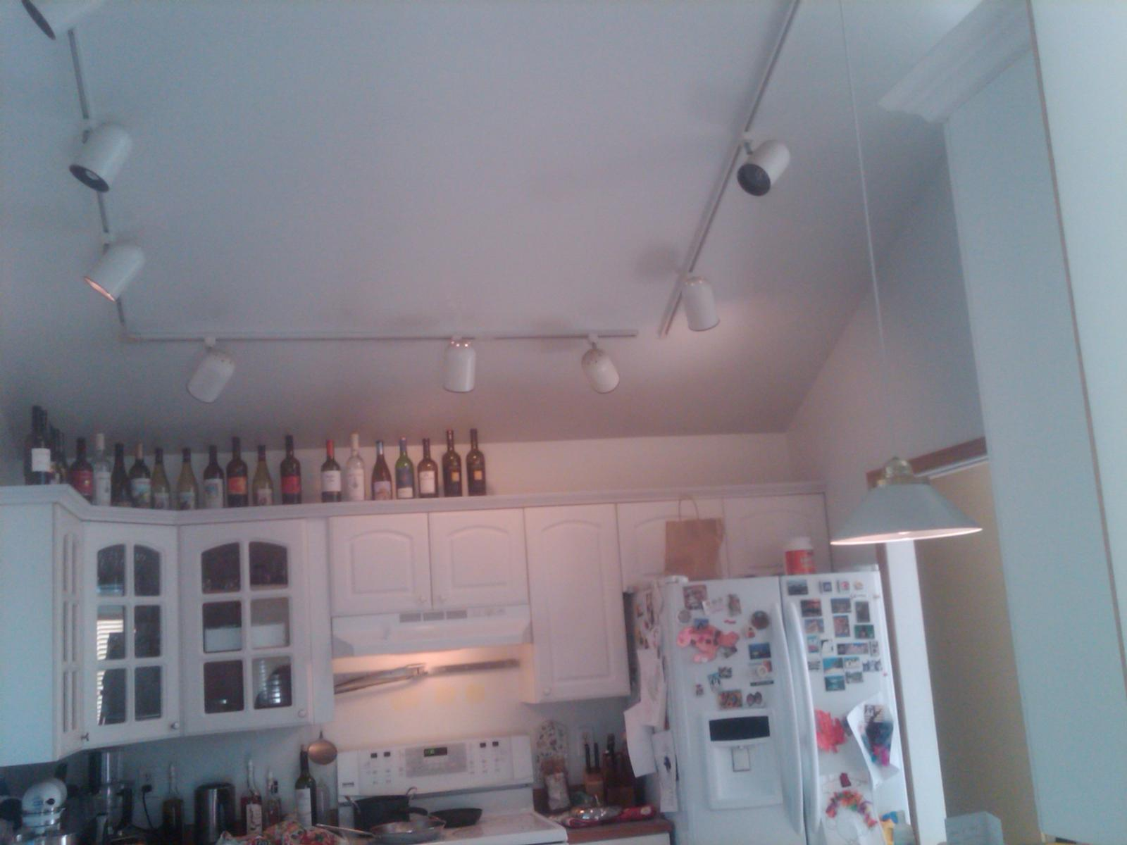 kitchen needs lighting solution im stumped overhead kitchen lighting Kitchen needs lighting solution and I m stumped