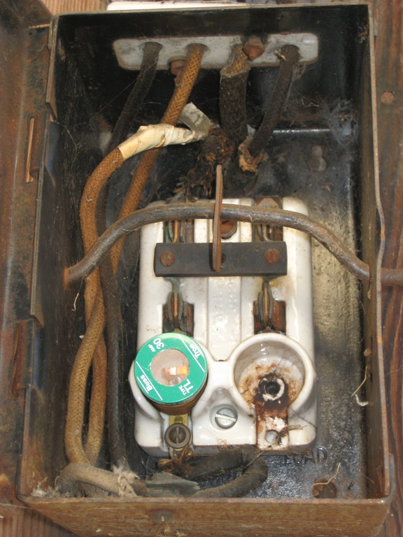 early 1900s fuse box wiring diagram