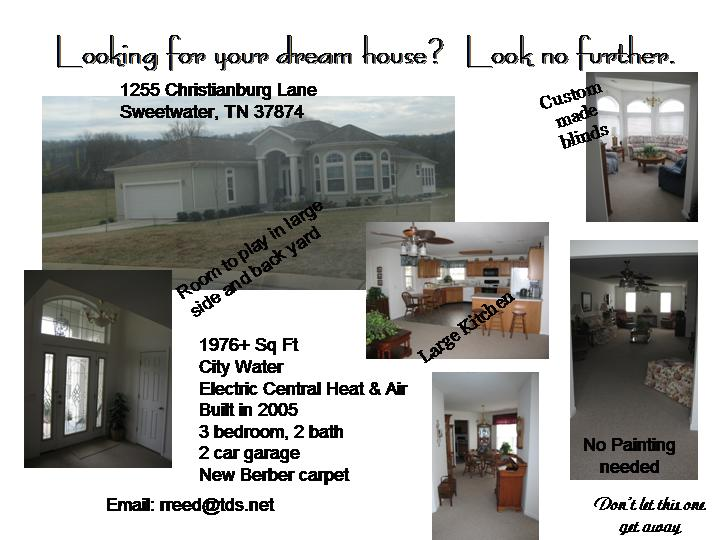 House for sale Sweetwater, TN $175,000 - Classified Ads -Buy and
