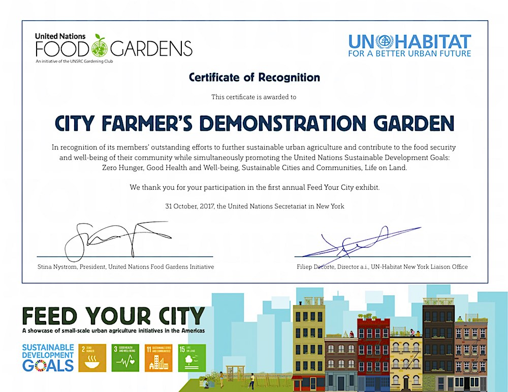 New Stories From \u0027Urban Agriculture Notes\u0027 \u2014 City Farmer News