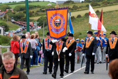 320th Anniversary of The Battle of The Boyne - Monday 12th July 2010 Portrush