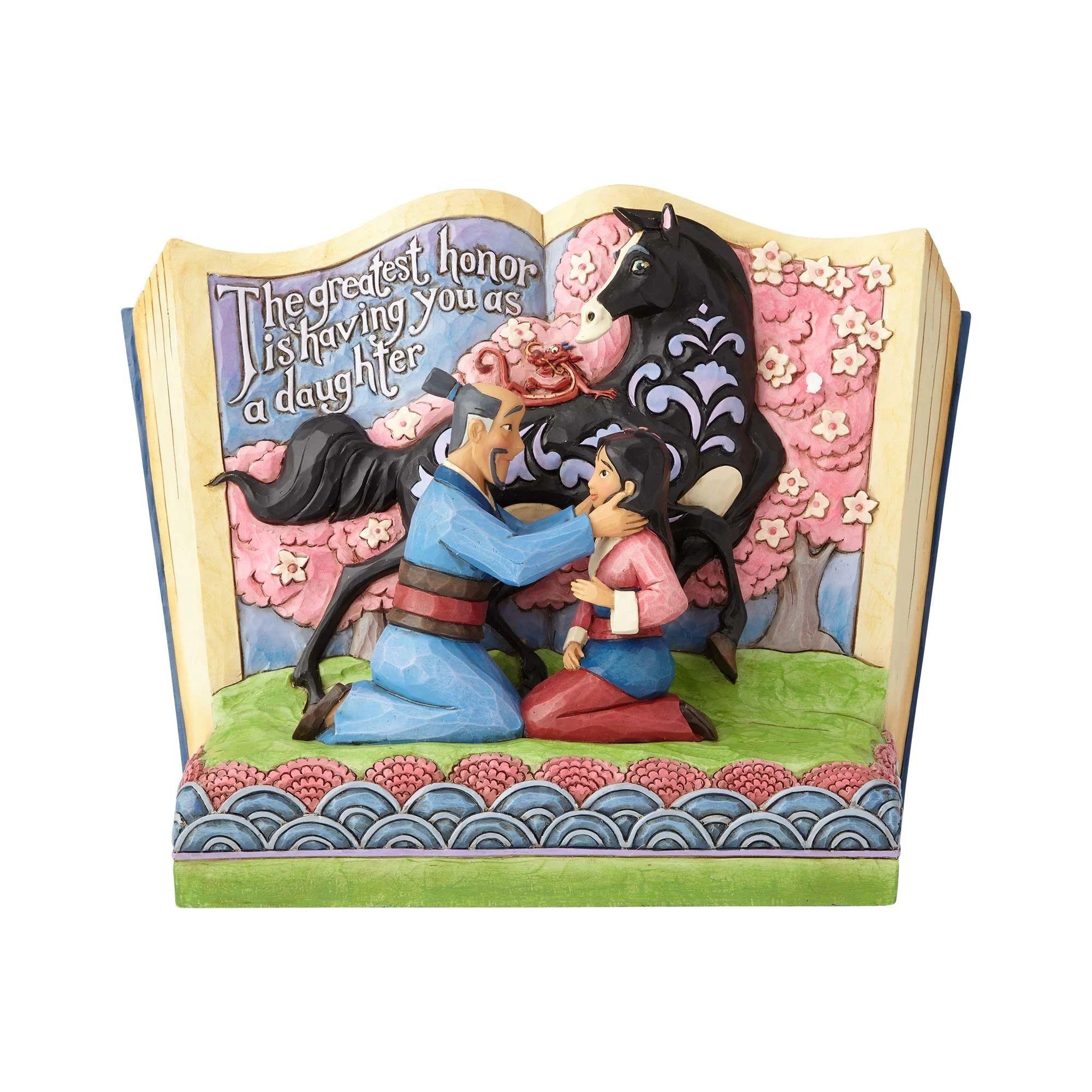disney traditions 4059729 mulan story book