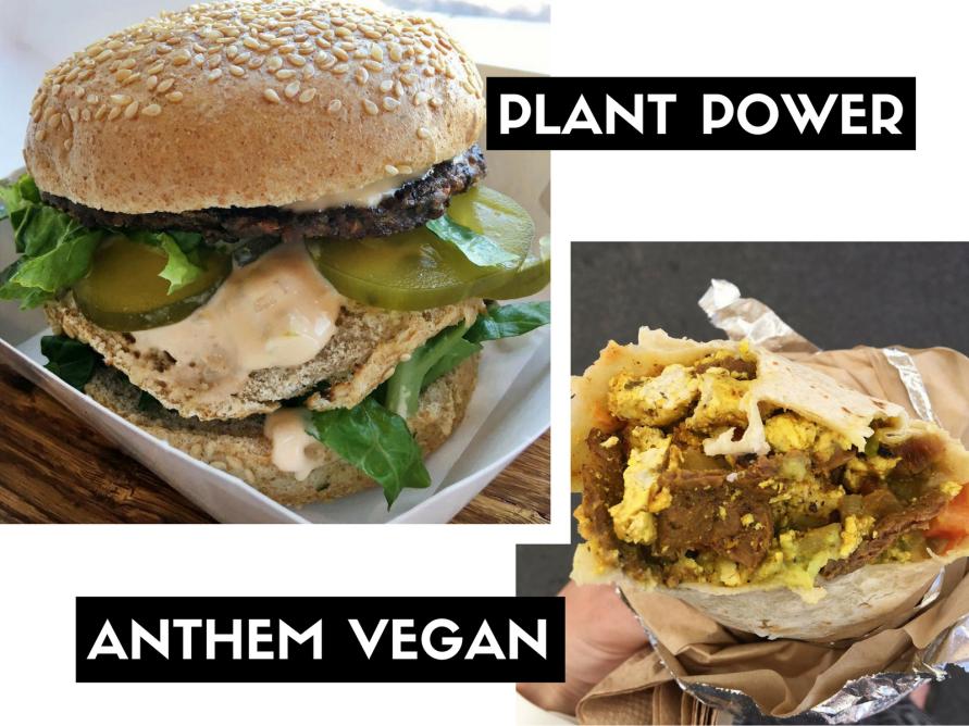PLANT POWER & anthem vegan