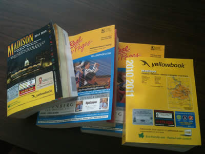 Phone Books - Recycling - Streets  Recycling - City of Madison