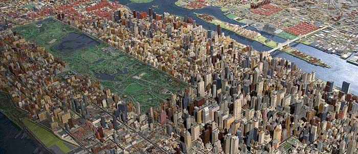 Panorama of the City of New York at the Queens Museum