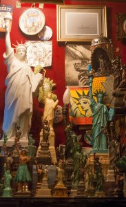 Statue of Liberty Memorabilia at The City Reliquary