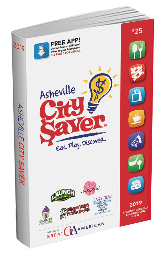 Asheville, NC - City Saver Fundraiser Coupon Book