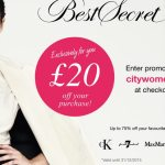 BestSecret is back with a £20 special offer