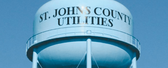 Technology Transforms St Johns County Water Utilities
