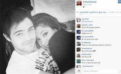 Martina Stoessel publicó una foto súper romántica con Peter Lanzani