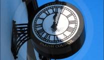 Arthuret Parish Council clock, Longtown Cumbria