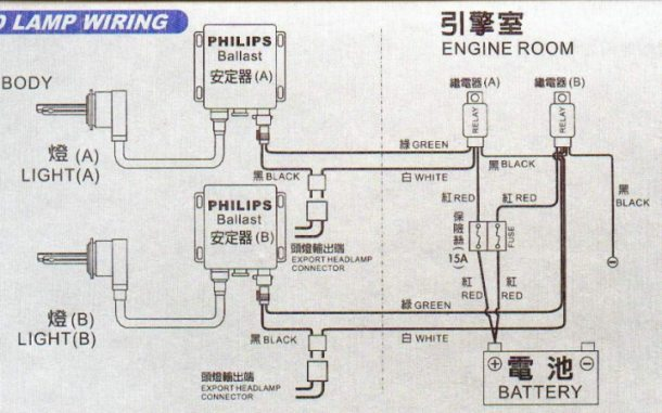 H4 Hid Diagram Wiring Schematic Diagram