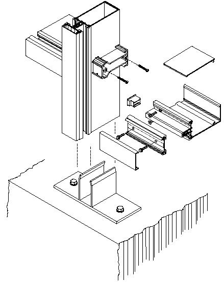 Curtainwall-1600jpg (439×552) Kawneer Exploded Isometric at sill - computer engineer job description