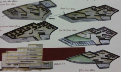 SPA plan view