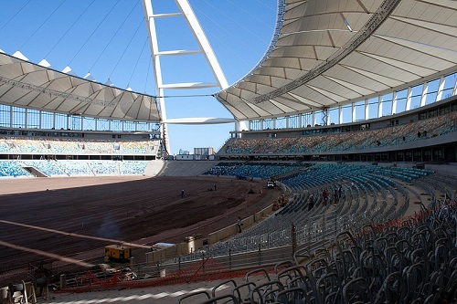 Interior Design of Durban Stadium
