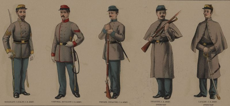 Civil War Uniform Great In The North Bad In The South