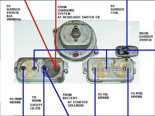 willys cj3a wiring diagram