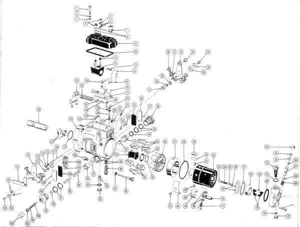 ford 4000 injector pump repair