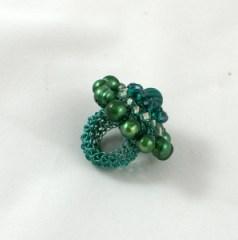 """Pierścień """"Bardzo zielony"""""""