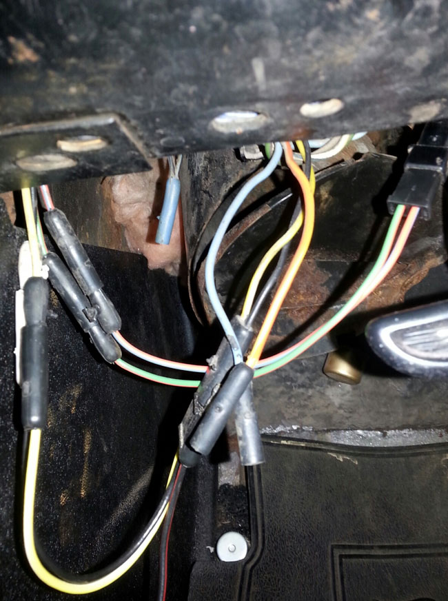 1965 mustang wire harness