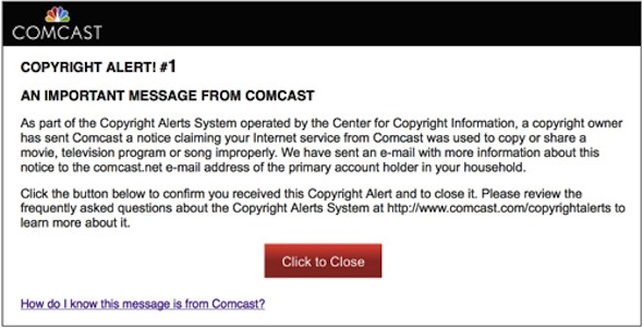 The new copyright alert system is running - Columbia Journalism Review - notice of copyright importance