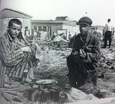 Liberation feast, Dachau concentration camp