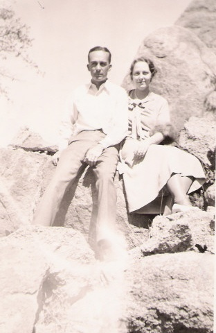 William Wallace Greene Jean Alice Harless Honeymoon