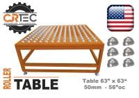 CLICKER PRESS ACCESSORIES-roller table,racks,sheet feeder