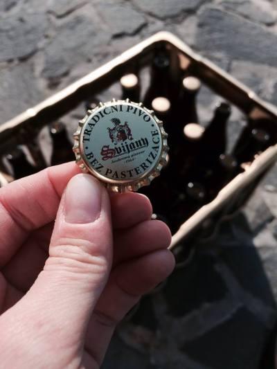 Nemějte strach, jedná se o osvědčené pivo ze Svijan!