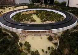 Nova sede da Apple é filmada clandestinamente com ajuda de drone