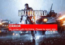 Erro de Battlefield 'No contact with EA Online' continua a reaparecer