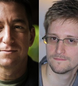 Edward Snowden, Glenn Greenwald