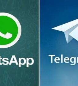 WhatsAp-Telegram