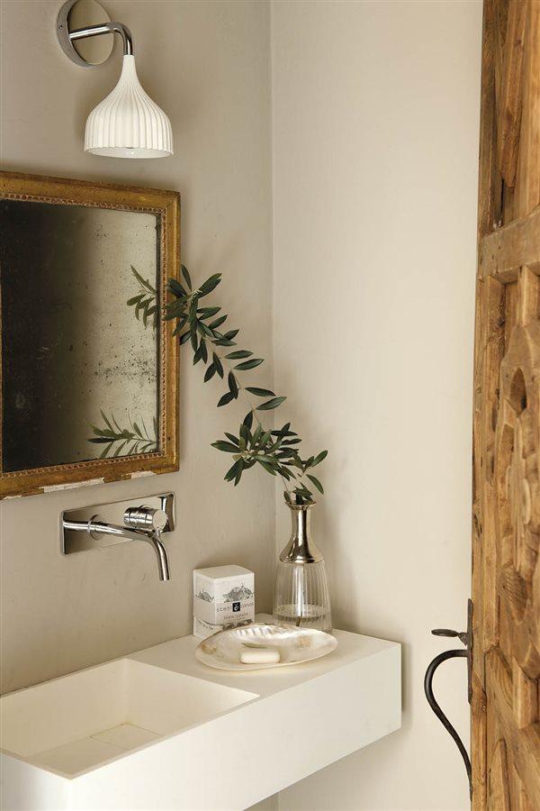 15 buenas ideas para baños pequeños - Sanitarios Pequeos