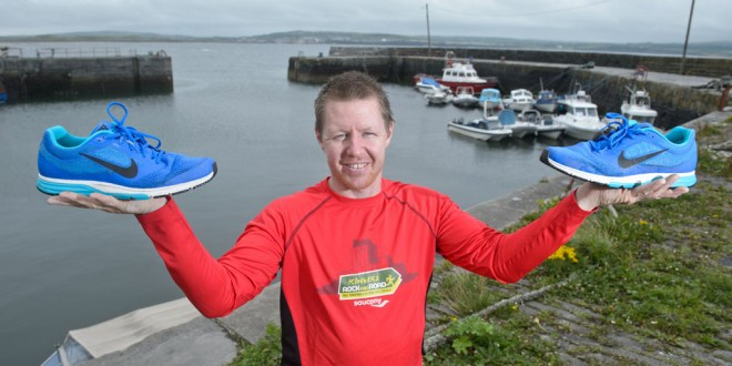 Joe warms up for 250-mile fundraiser