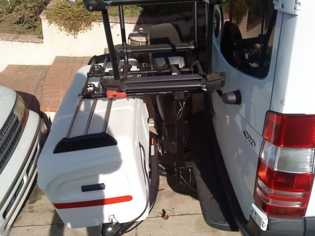 Outside Storage On Sportsmobile Sprinter Short Chassis