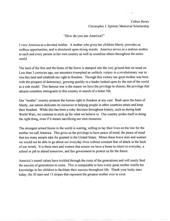 Why I Deserve A Scholarship Essay By Sting0923 Anti Essays Why I Deserve This Scholarship Essay Scholarship Essay