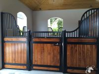 Hinged Horse stall doors | Best Quality Horse Stalls made ...