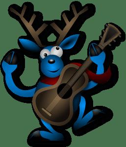 white christmas classical guitar