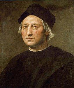 Christopher Columbus by Ghirlandaio